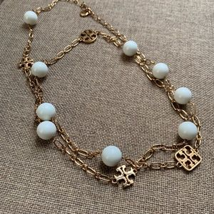 Tory Burch 'Evie' Extra Long Pearl Necklace.